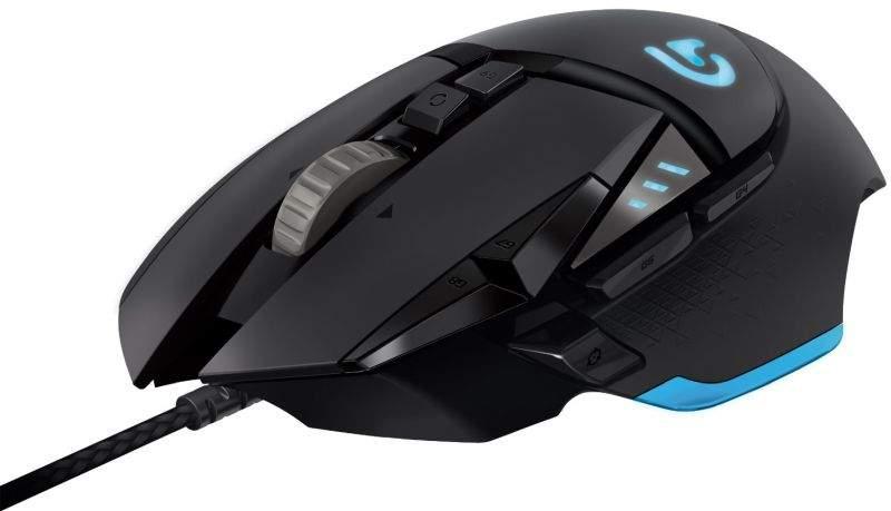 gaming miš logitech g502