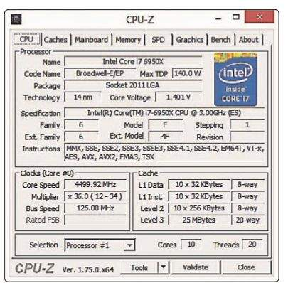 intel procesro tablica i7