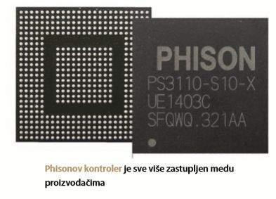 ssd disk phisonov kontroler