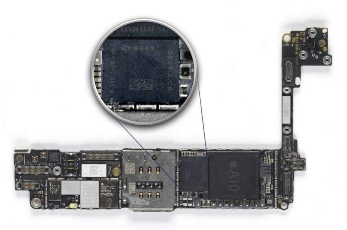 intel unutar iphone 7