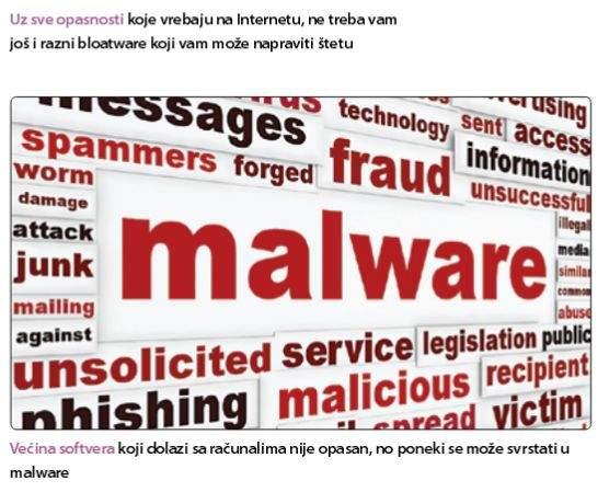 malware na računalu