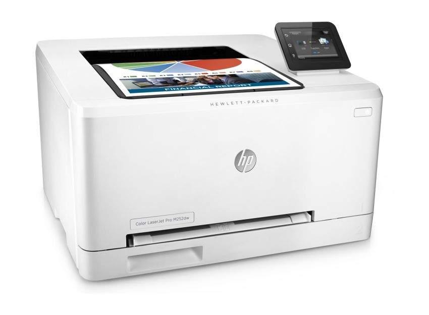 Printer hp color laserjet pro m252dw test pc chip for Hp printer test page color
