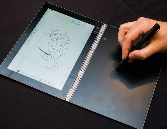 Lenovo Yoga Book crtanje