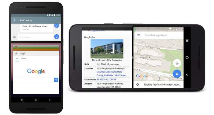 Android-Noughat-podjela ekrana