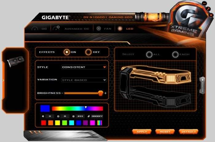 Gigabyte-GTX-1060-G1-Gaming-6GB-softver