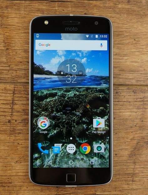 Moto Z play ekran