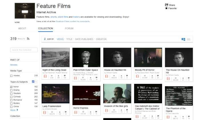 besplatni filmvi na internet archive