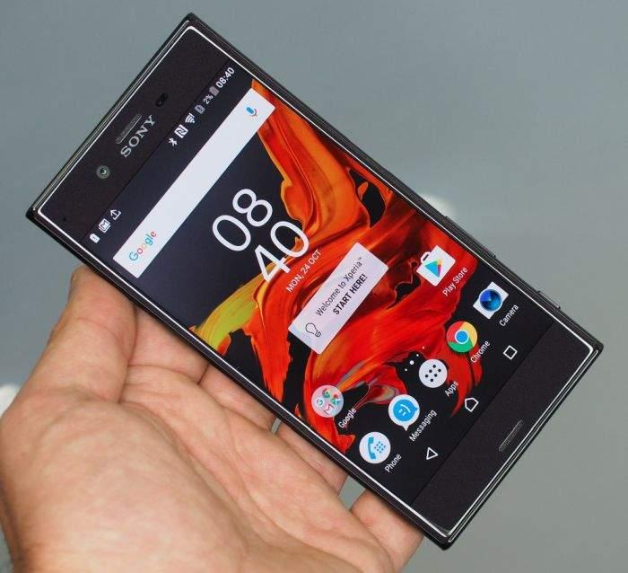 Sony Xperia XZ ekran