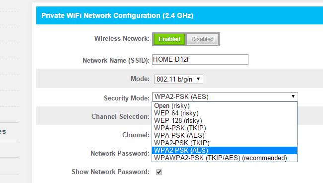 konfiguracija rutera za bežićnu vezu