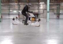 Leteći motocikl Scorpion 3