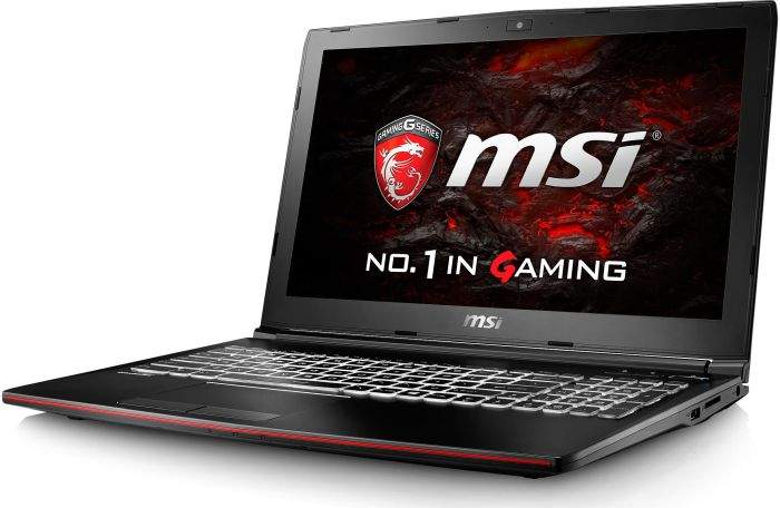 MSI GP62MVR-6RF161 Gaming Notebook