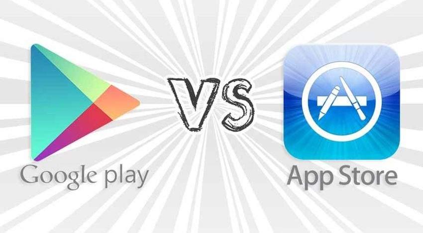 google-play trgovina-vs-apple-trgovina