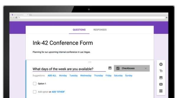 Google G Suite pametni obrasci
