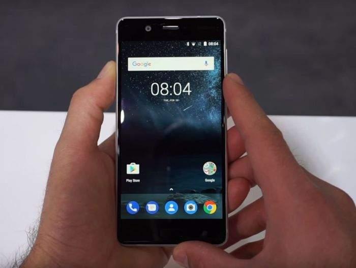 Nokia 5 ekran