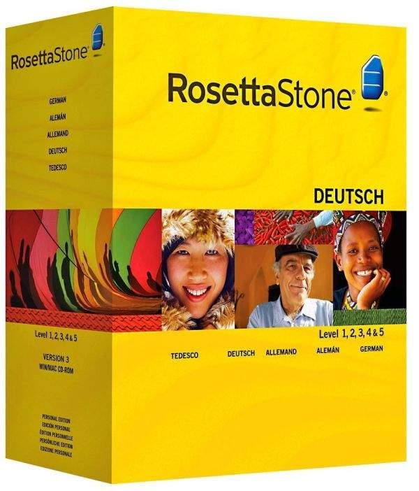 Rosetta-Stone-softver za učenje njemačkog
