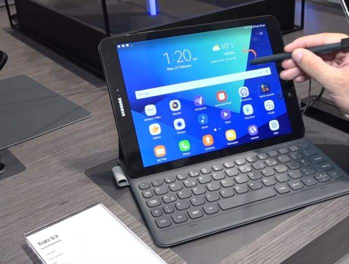 Samsung Galaxy Tab S3 performanse