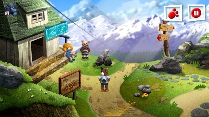 Teddy-Floppy-Ear-Mountain-Adventure linux igrica za djecu