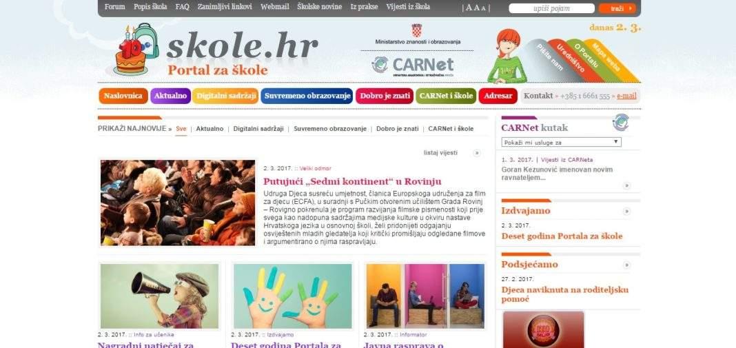 portal za skole