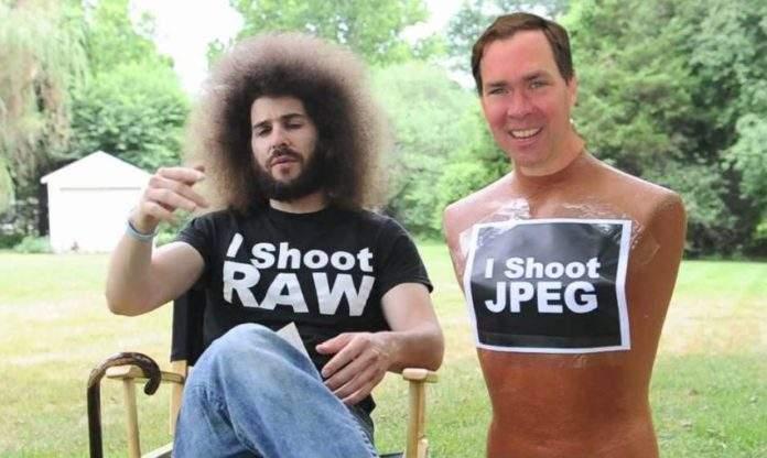 razlika između RAW i JPEG