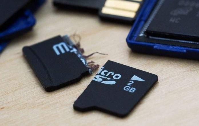 popravak microsd kartice