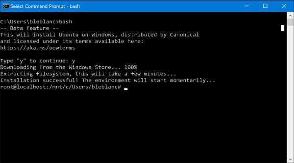 instaliranje linuxa na windows