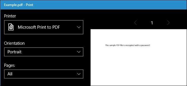 how to add microsoft print to pdf