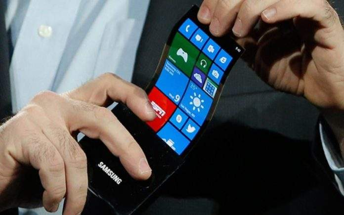 samsungov rastezljivi amoled zaslon