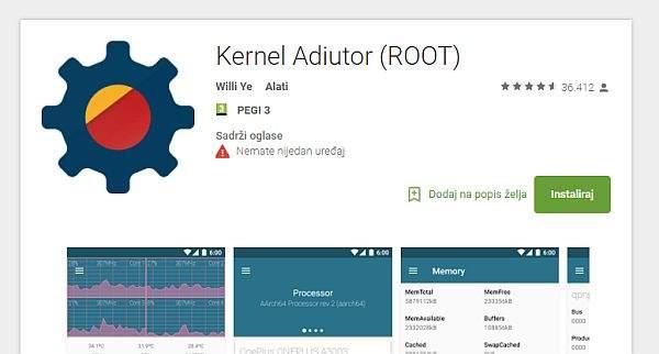 kernel auditor instalacija