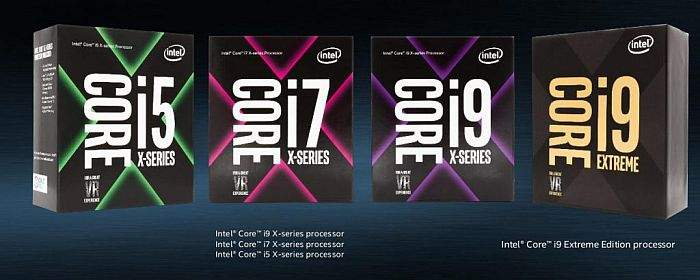 Intel-Core-X CPU