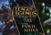 League of Legends ZAKRPA 7.15