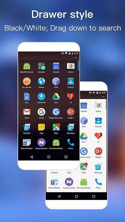 androig nougat launcher