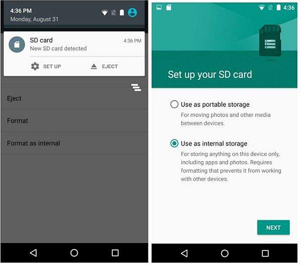 Android Lollipop snimanje fotografija na sd karticu