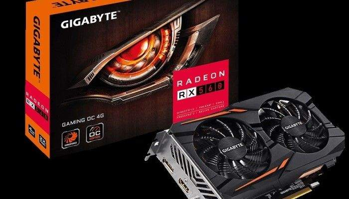 Gigabyte Radeon RX 560 Windforce OC 4GB