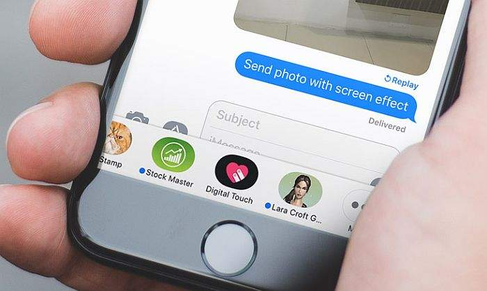 iMessage iOS 11