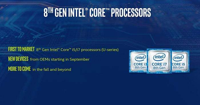 intel 8 generacija cpu raspored
