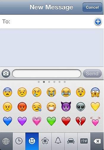 iphone emotikoni