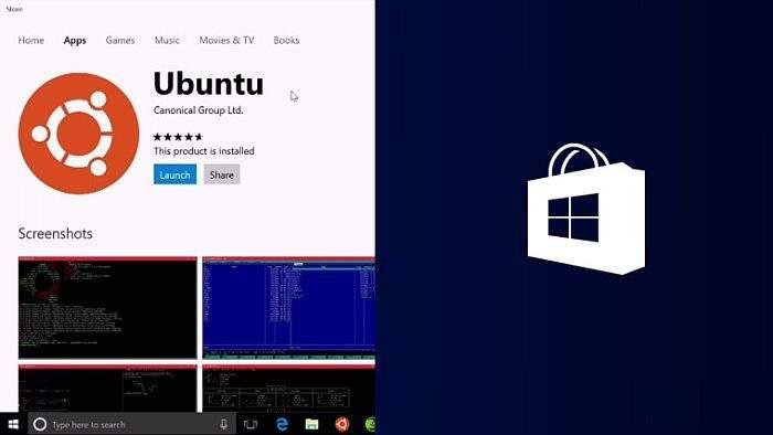 ubuntu u windows trgovini