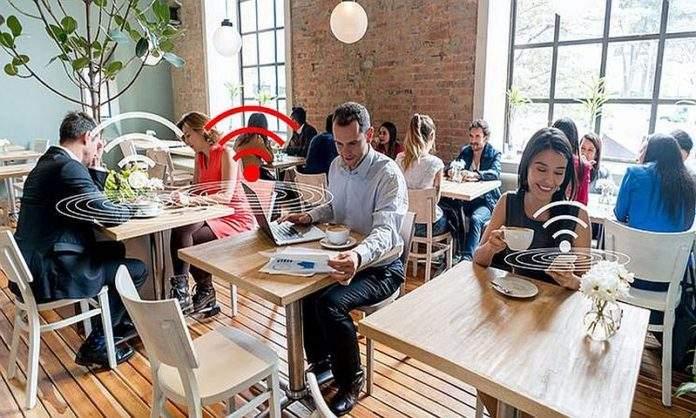 wifi na javnom mjestu
