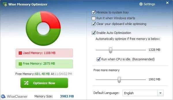 windows ram optimizacija