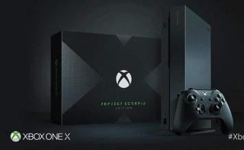 xbox one x project scorpio le