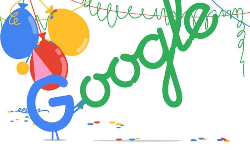 google rođendan Google proslavio svoj 19. rođendan | PC CHIP google rođendan