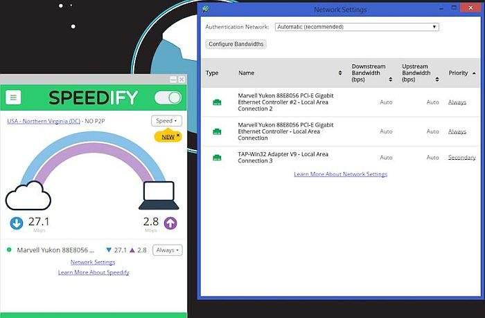 Speedify-VPN 2