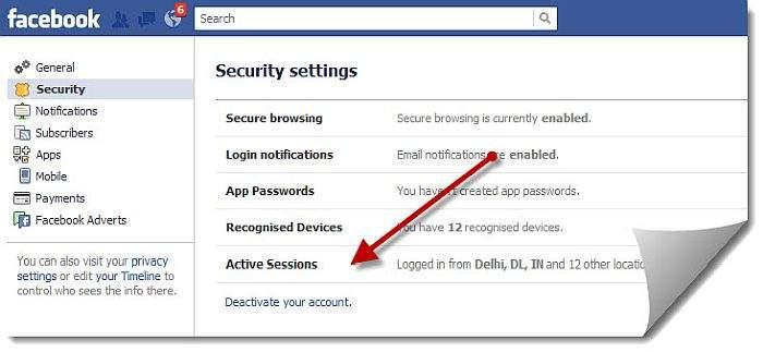 kako deaktivirati fb račun