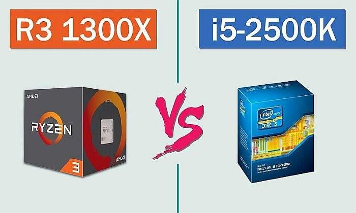 Intel Core i5-2500K ili AMD Ryzen 3