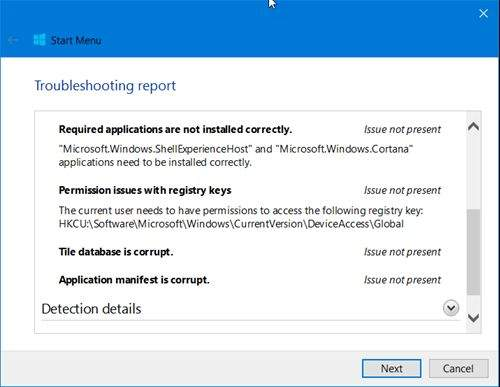 Windows-10 Troubleshooter