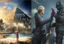 Wolfenstein II The New Colossus i Assassin's Creed Origins
