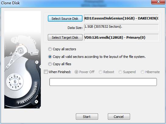 clone-disk-setting