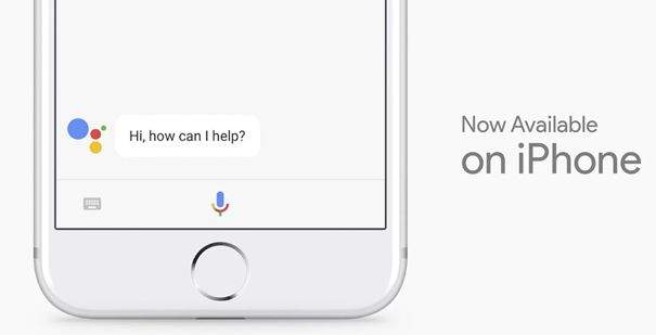 google assistant za apple