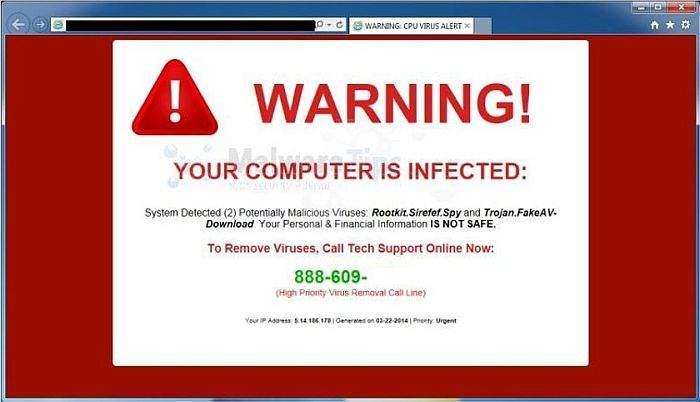 upozorenja virusa