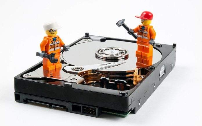 uređivanje diska na računalu